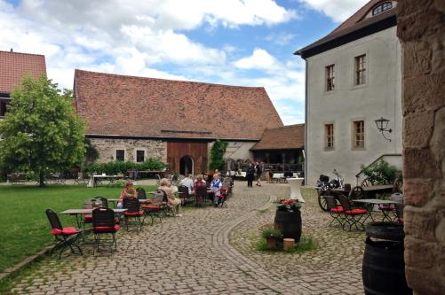Hof des Rittergut Positz