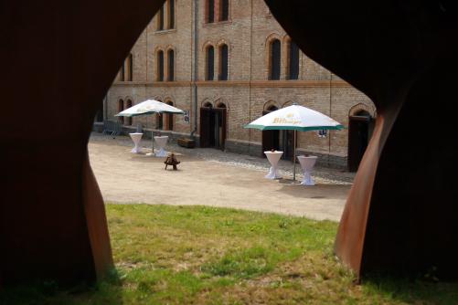 Blick auf den Innenhof FestungMark