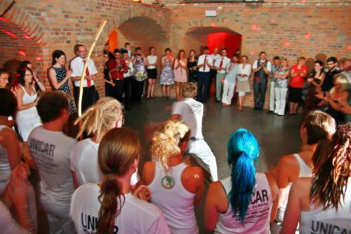 Capoeira auf Hochzeit