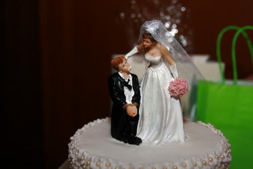 Brautpaar in Leipzig