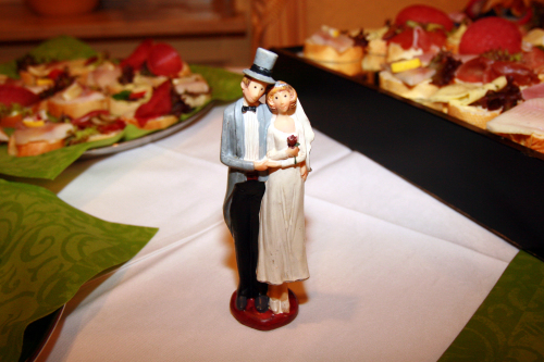 Brautpaar in Osnabrueck