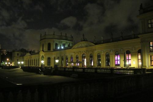 Nachtaufnahme Orangerie Kassel