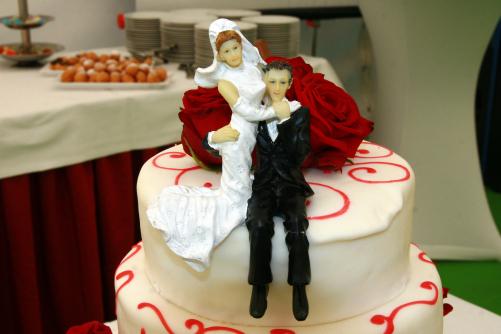 Brautpaar in Magdeburg