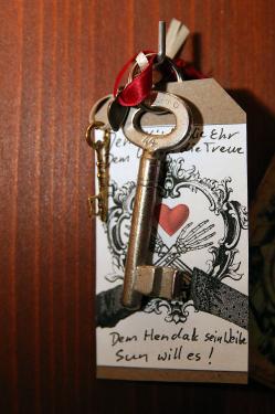 Schlüssel - hochzeit in paderborn