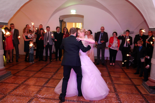 First Dance in Wolfenbüttel