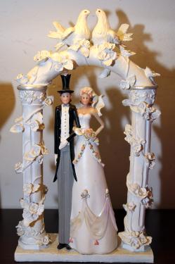Brautpaar-Figur