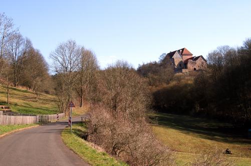 Tannenburg von unterhalb