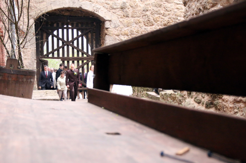 Hochzeitsgesellschaft - mittelalterliche hochzeit