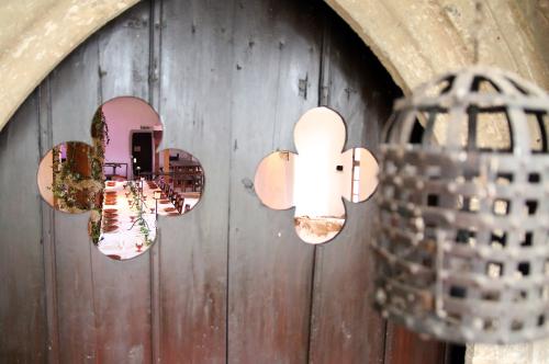 aus der Kapelle fotografiert