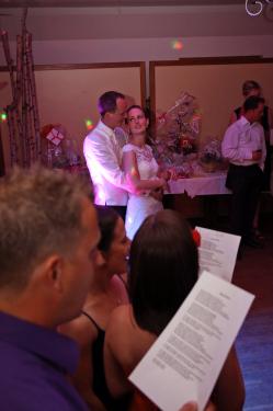 für das Brautpaar