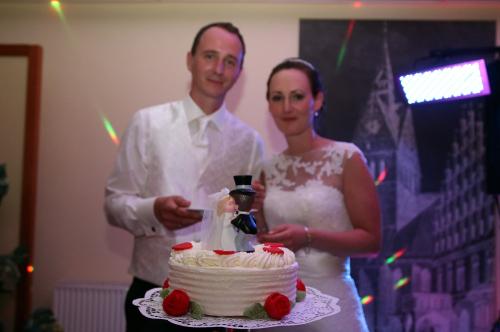 Brautpaar vor Brautpaar