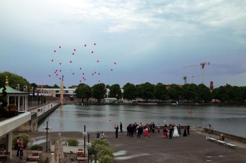 Ballonflug am Maschsee 2