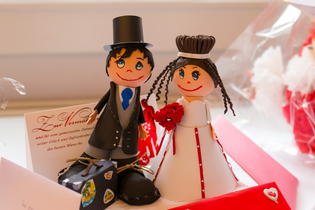Brautpaar in Weimar